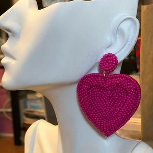 Beads Heart Earring